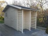 Domek z drewutnią 5m x 2,0m