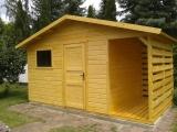 Domek z drewutnią 4,5x2,5m
