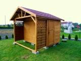 Domek z drewutnią 3x3m.