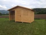 Domek z drewutnią 4,5m x 2,5m